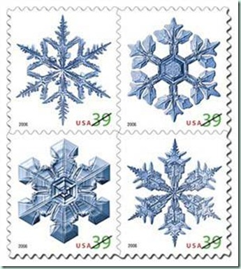 us snowflake stamp