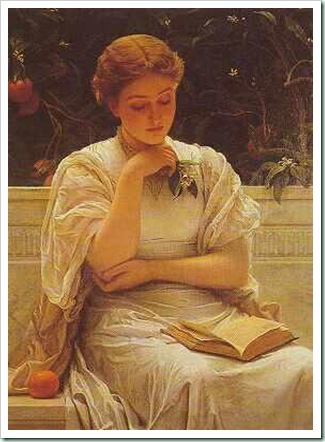 perugini  girl reading