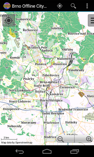 Brno Offline City Map