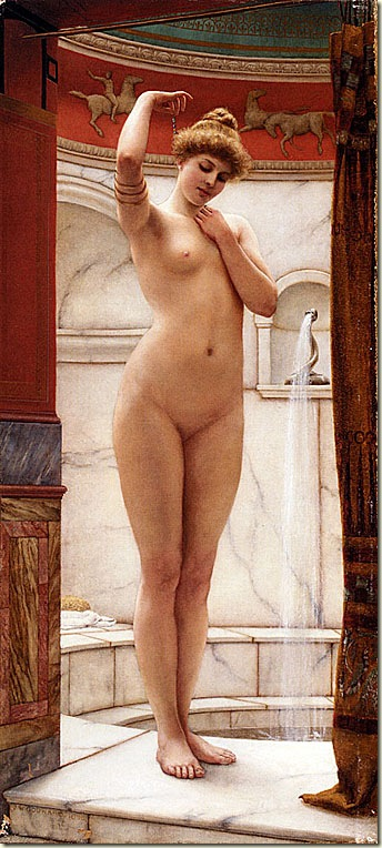 chaste nude painting