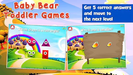 Baby Bear Games for Toddlers- screenshot thumbnail