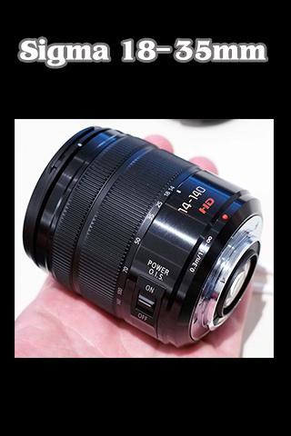 Sixma 18-35mm F1.8 DC Tutorial