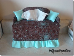 Kraftymum Couch Tissue Box Cover