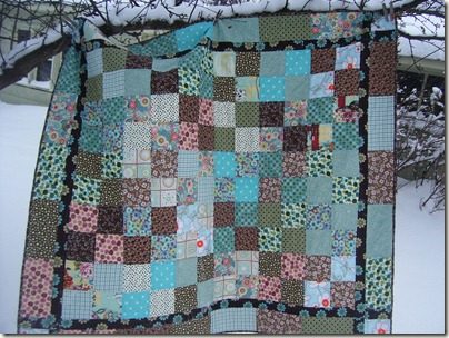 quilts, chickens, winter 010