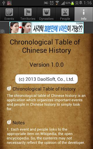 免費下載書籍APP|Chinese History Timeline(Free) app開箱文|APP開箱王