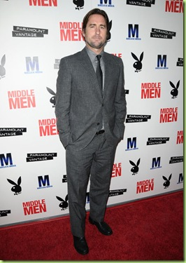 "attends the premiere of ""Middle Men"" at ArcLight Hollywood on August 5, 2010 in Hollywood, California."