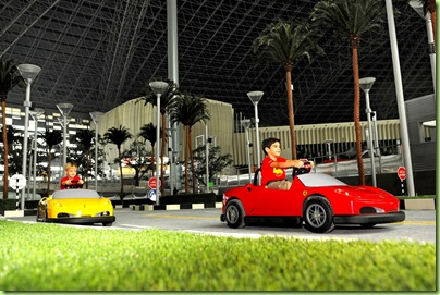 Junior GP at Ferrari World Abu Dhabi II