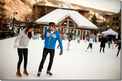 Ice Skating in Aspen
