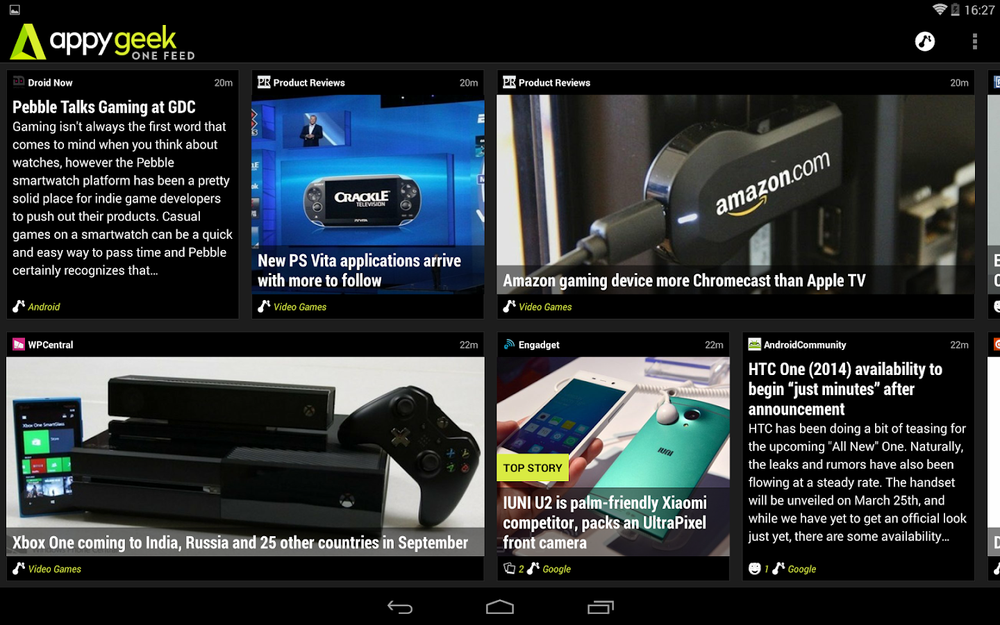 Appy Geek for Tablet- screenshot