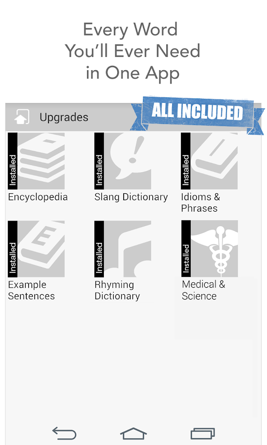 Dictionary.com Premium- screenshot