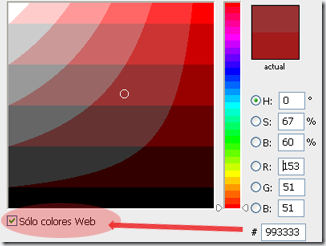 Elgiendo colores seguros