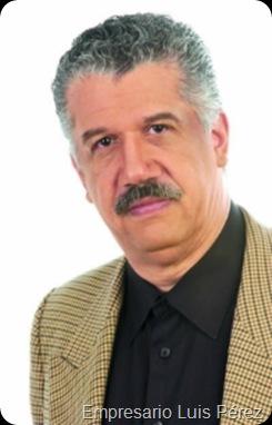 Empresario Luis Pérez