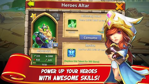 Castle Clash: Age of Legends Captura de pantalla 23