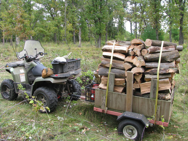 Best Way To Haul Wood From Woods Hearth Com Forums Home