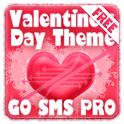 Valentines Heart GO SMS Theme icon
