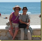 Mum and me on Estapona beach june2009