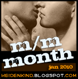 m/m month button
