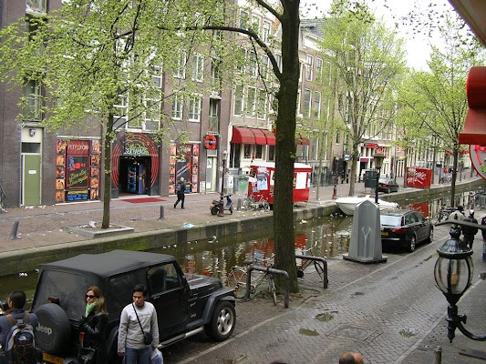 Obiective turistice Olanda: Cartierul Rosu Amsterdam