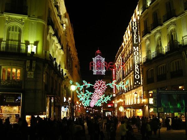 Imagini Spania: Madrid noaptea.JPG