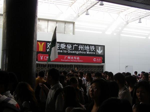 Transport China: gara Guangzhou