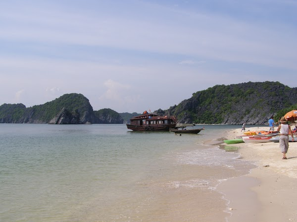 Obiective turistice Vietnam: Halong monkey island.JPG