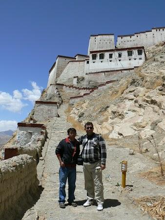 Obiective turistice Tibet: spre dzong Gyantse