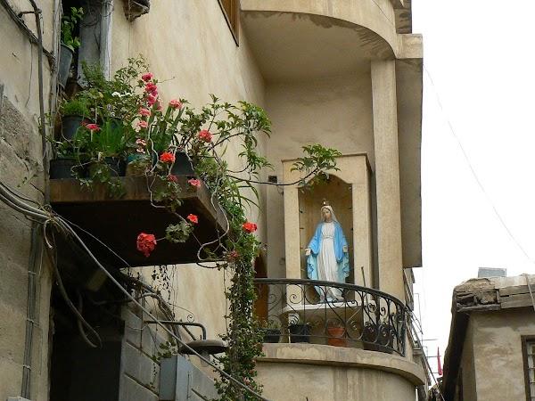 Obiective turistice Siria: pe ulitele cartierului crestin din Damasc