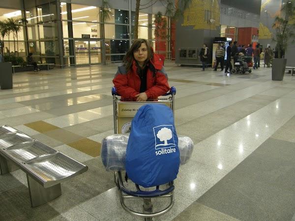Imagini India: sosire aeroport Delhi