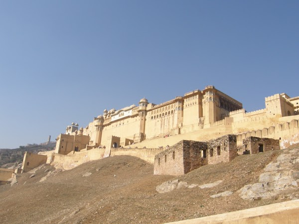 Obiective turistice India: Amber Fort Jaipur