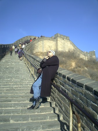 Imagini China: Marele Zid Badaling iarna.JPG