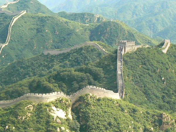 Imagini China: Marele Zid ca un sarpe.JPG