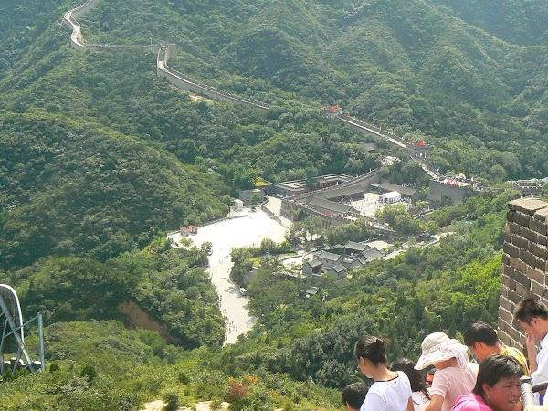 Imagini China: la baza Marelui Zid.JPG