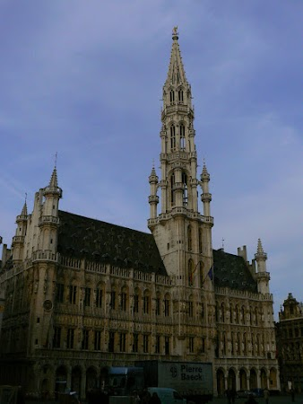 Obiective turistice Belgia: Primaria Bruxelles