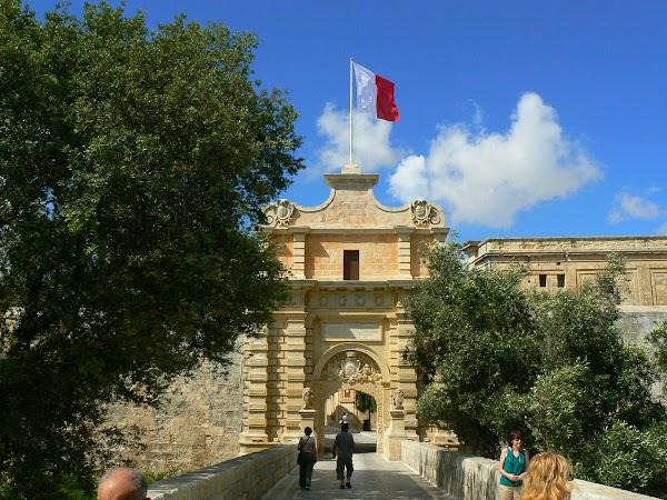 Obiective turistice Malta: Mdina silent town.JPG