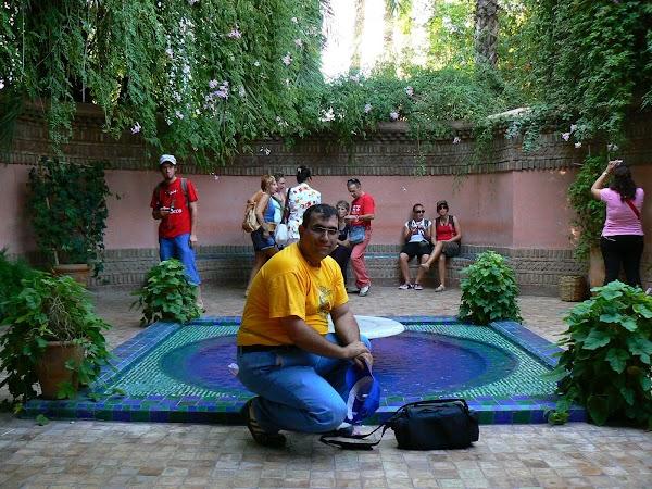 Obiective turistice Maroc: Jardin Majorelle, Marrakech