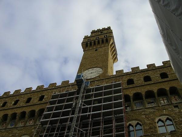 Obiective turistice Italia: Firenze, Pallazzo Vecchio.JPG