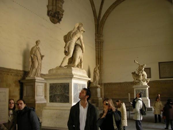 Obiective turistice Italia: Firenze, Piazza della Signoria, Florenta