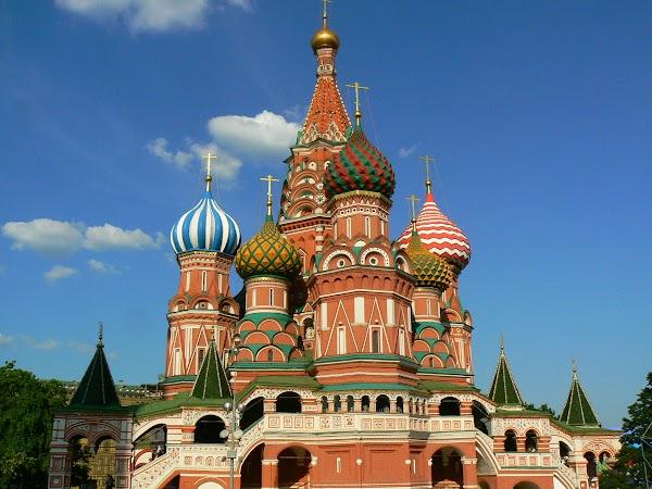 Obiective turistice Rusia: Sf Vasile, Moscova
