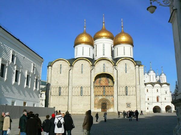 Obiective turistice Rusia: Kremlin, Moscova
