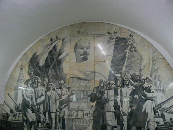 Obiective turistice Rusia: metro Moscova.JPG
