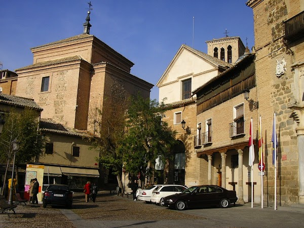 Obiective turistice Spania: piata Zocodover.JPG