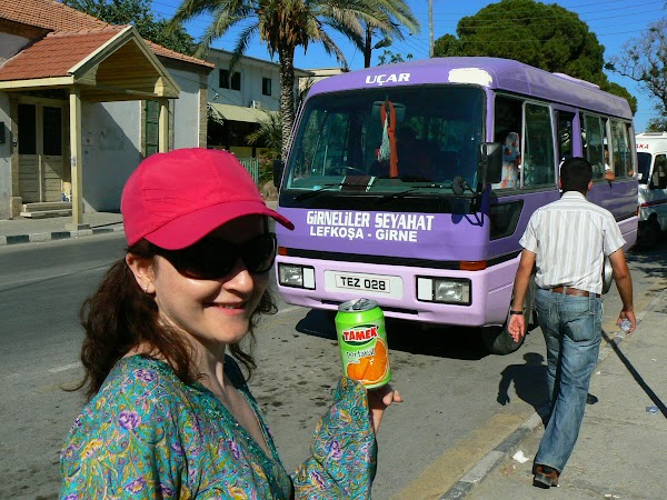 Obiective turistice Cipru de Nord: dolmus de Nicosia.JPG