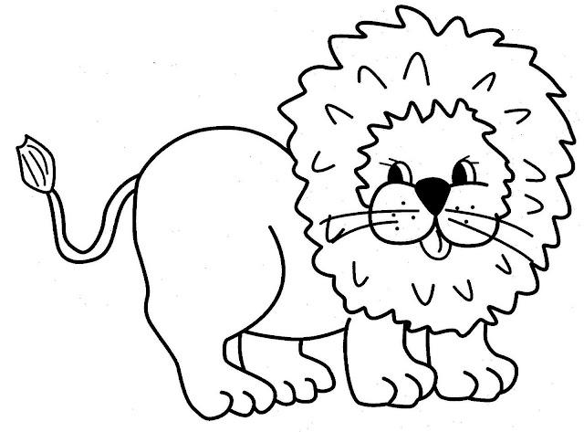 Pintar Animales Salvajes Leones