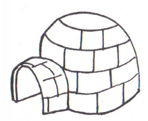 Como Dibujar Un Iglu