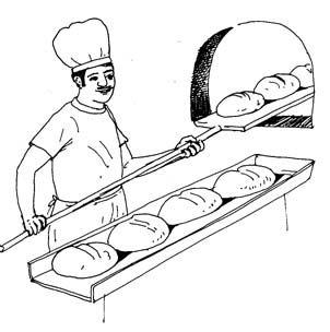 صورة خبز للتلوين