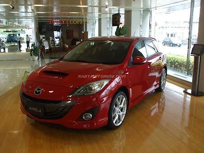 Mazdaspeed Axela 2010 Front
