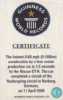 Nissan GTR - World's Fastest Production Four-Seater by Guinness Book of World