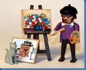 playmobil painter