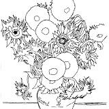 Dibujos Infantiles De Cuadros De Van Gogh Para Colorear
