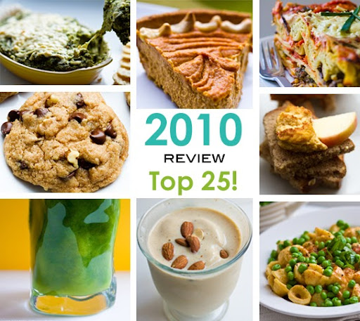 Top 25 Vegan Recipes Of 2010! HHL Year In Review.